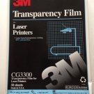 "Color Laser Jet Transparency Film 82 Sheets Letter 8.5 ""x 11"" Lot"