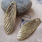 Antique Bronze Cicada Dragonfly Wing Pendants Charms Set of 4 A3050