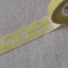 Skinny Yellow Masking Washi Tape 5mm Wide x 10M Roll A12636