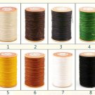 0.45mm Round Wax Polyester Thread Cord Leather Craft 65 yards 2
