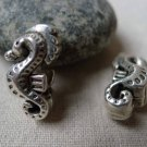 10 pcs Antique Silver Seahorse Beads 11x20mm Double Sided A5833