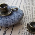 10 sets of Antique Bronze Coffee Cup Charms Pendants 18.5mm A1341