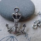 20 pcs of Antique Silver Anchor Charms Pendant 18x24mm A7685