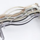 "20.5cm (8"""")/ 27cm (10"""") Purse Frame Clutch Bag Making Bronze Silver Gunmetal Light Gold Four Color"
