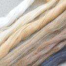 Angora Goat Mohair Needle Felting Wool Bundle 5G(0.17 OZ) A Pack Black