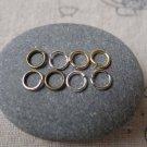Antique Bronze Silver Gold Platinum Jump Ring  5mm 22gauge 500 Bronze A6768