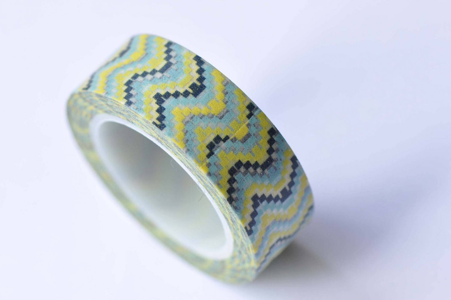 Colorful Mosaic Tile Pattern Washi Tape 15mm x 10M Roll A12660