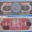 Un Peso Mexico.