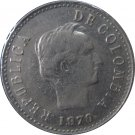 1970 Colombia 20 Centavo