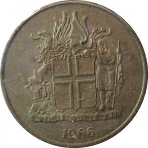 Iceland 1966 1 Krona
