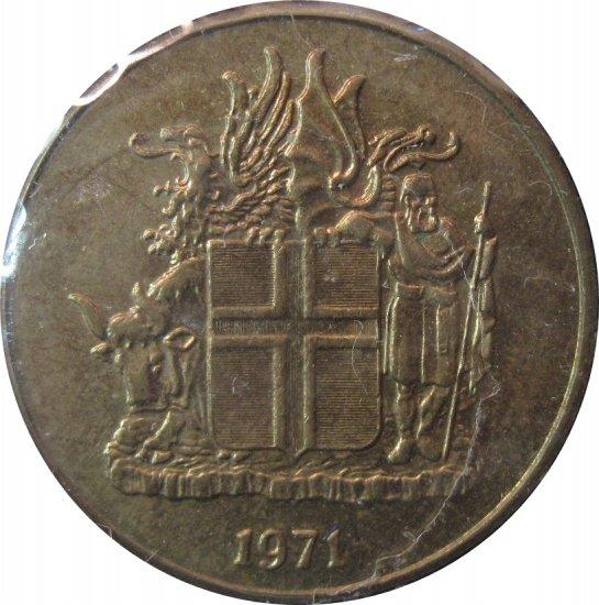 Iceland 1971 1 Krona