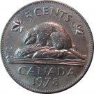 1978 Canadian 5 Cent
