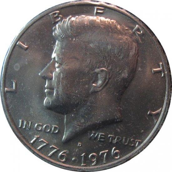 1976 D Kennedy Half (dan)