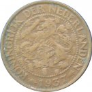 1937 Netherlands 1 Cent
