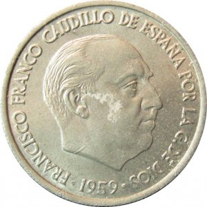 1959 France 10 Centimos