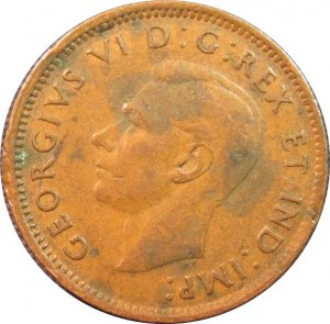1946 Canadian Cent