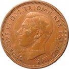 1938 Great Britain Half Penny