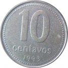 1993 Argentina 10 Centavo