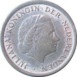 1969 Netherland 1 Cent