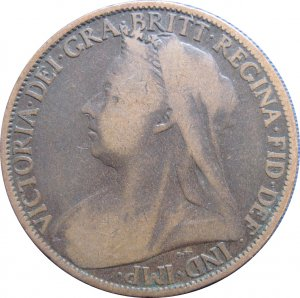 1899 Great Britain One Penny