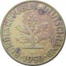 1950 G Germany 10 Pfennig #2