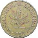 1950 F Germany 10 Pfennig #1
