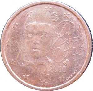 2000 France 1 Euro
