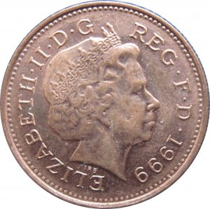 1999 Great Britain One Penny