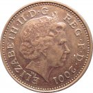 2001 Great Britain One Penny