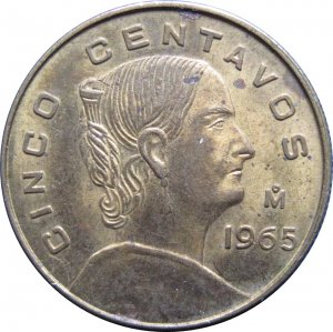 1965 5 Centavos
