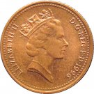 1996 Great Britain One Penny