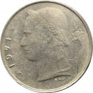 1971 Belguim 1 Franc