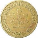 1969 F Germany 10 Pfennig