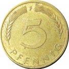 1977 F Germany 5 Pfennig