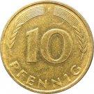 1982 F Germany 10 Pfennig