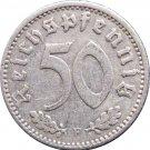 1935 F Germany 50 REICHSPFENNIG