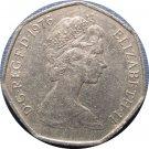 1976 Great Britain 50 Pence