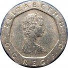 1982 Great Britain 20 Pence #2