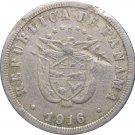 1916 Panama 2 1/2 Centesimos