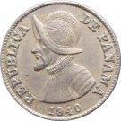 1940 Panama 2 1/2 Centesimos #2