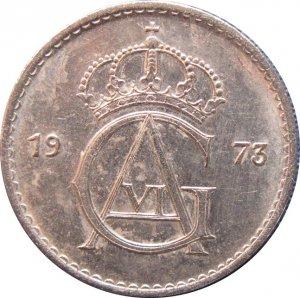 1973 Sweden 50 ORE #4