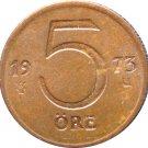 1973 Sweden 5  Ore