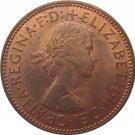 1963 Great Britain Half Penny