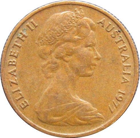 1977 Australia  1 Cent