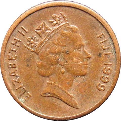1999 Fiji One Cent