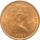 1982 Cayman Islands 1 Cent