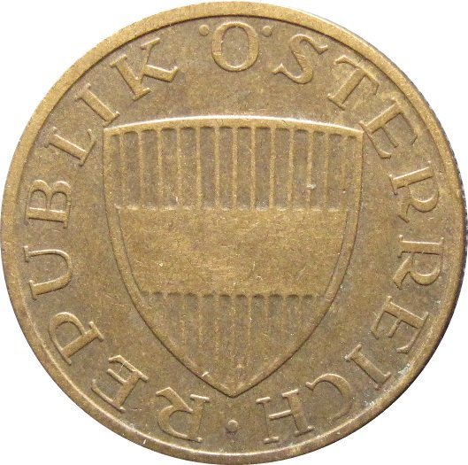 1969 Austria 50 Groschen