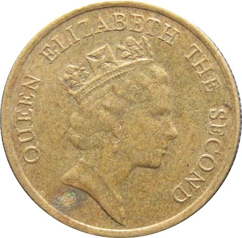 1990 Hong Kong 10 Cent