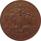 1984 Barbados 1 Cent