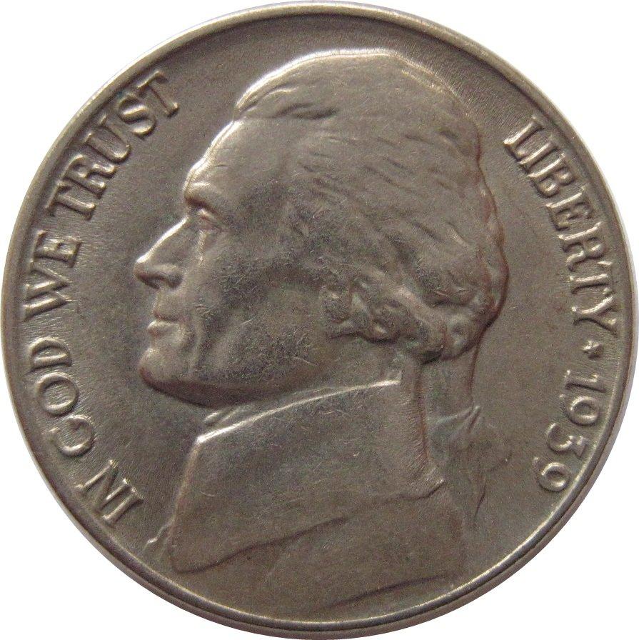 1939 Jefferson Very Nice Coin